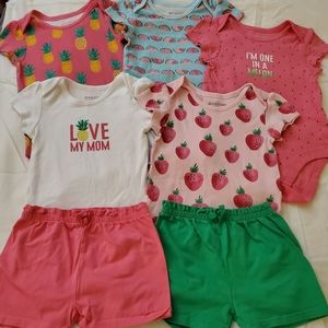 Baby Girl Fruits Matching Set The Children's Place
